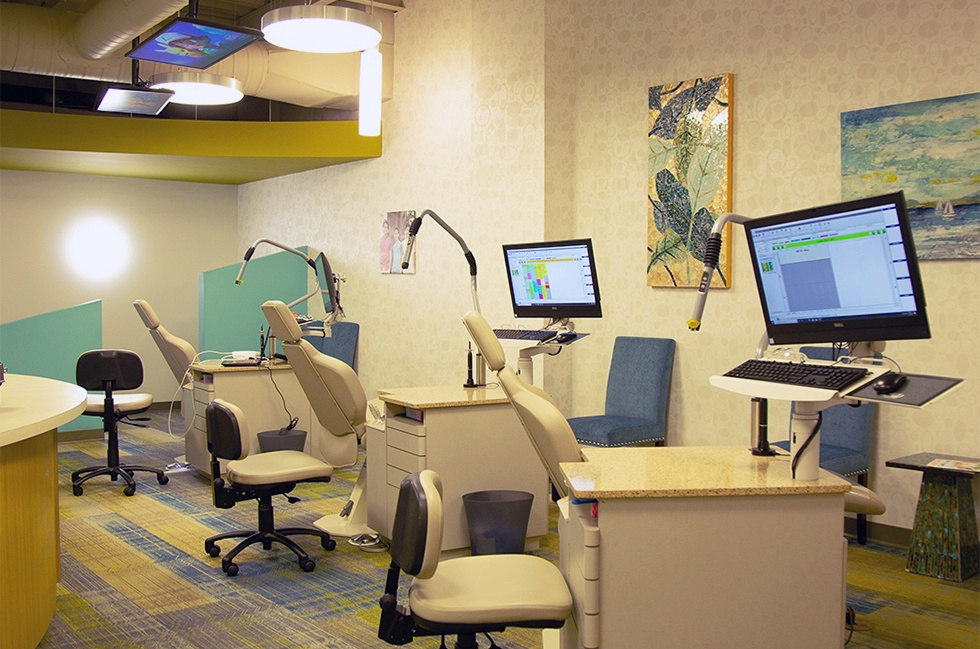 Orthodontic treatment room