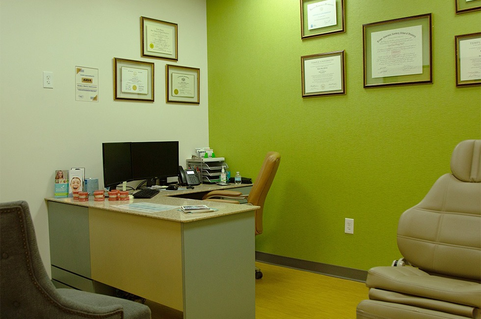 Orthodontic consultation office